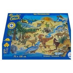 Puzzle géant dinosaures  48...