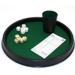 Plateau pour jeux de dés