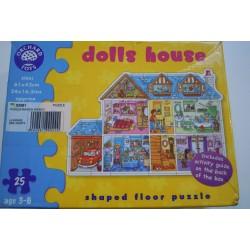 Puzzle les pièces de la maison