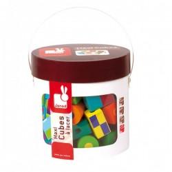 Maxi cubes à lacets