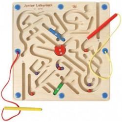 Labyrinthe magnétique double