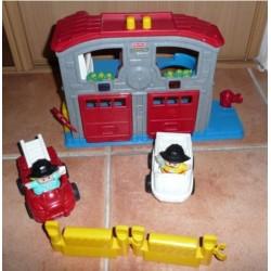 Little people pompiers
