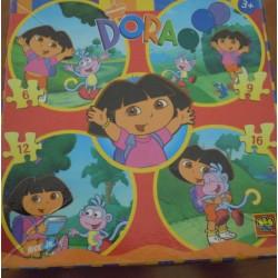4 puzzles Dora