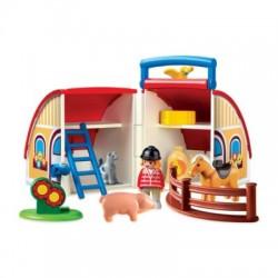 Playmobil 1 , 2 ,3 valise...