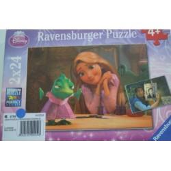 Puzzle Princesse et crapaud