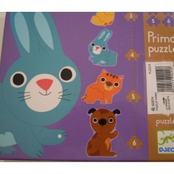 Puzzle primo baby animaux