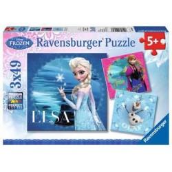 Puzzle la reine des neiges...