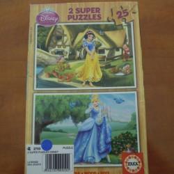 2 super Puzzles Disney