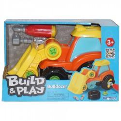 Bulldozer à construire