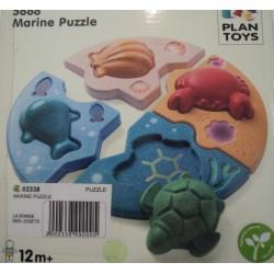 Encastrement puzzle marine