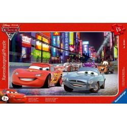 Puzzle cars 15 pièces