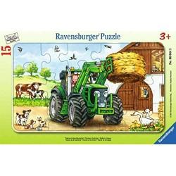 Puzzle Tracteur à la ferme...