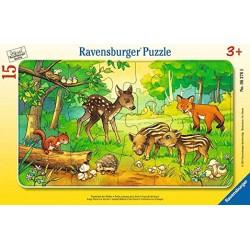 Puzzle  petits animaux de...