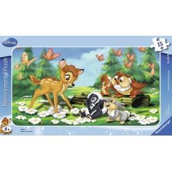 Puzzle Bambi 15 pièces