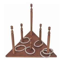 Triangle d'anneaux au sol