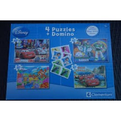 Puzzles et domino Disney Pixar