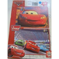 Puzzle CARS 2 x48 pièces