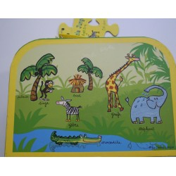 "Puzzle valise ""la jungle""..."