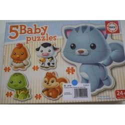 Puzzle baby animaux