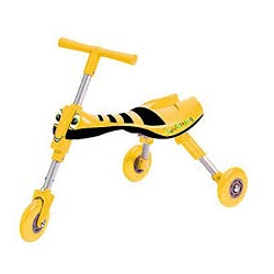 Tricycle pliable abeille