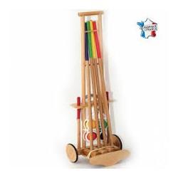 Croquet bois