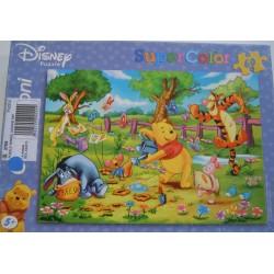 Puzzle Winnie au jardin