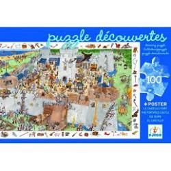 Puzzle découverte château fort