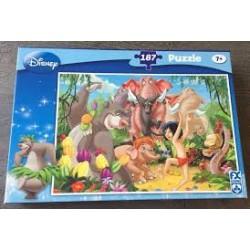 Puzzle livre de la jungle