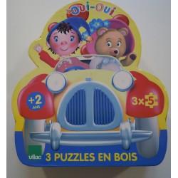 Puzzle oui oui véhicules