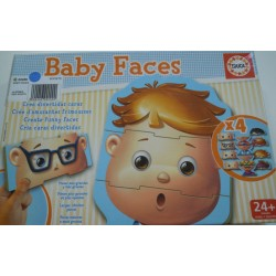 Puzzles baby face