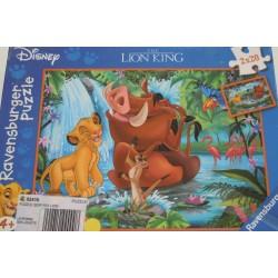 Puzzle le roi lion 2 x 20...
