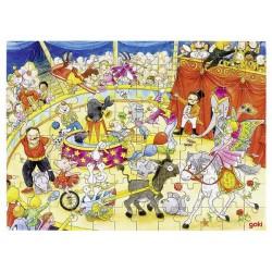Puzzle cirque en bois 96 p