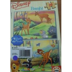 Puzzles 16 pièces de Bambi