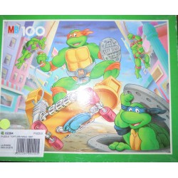Puzzle 100 pièces tortue Ninja