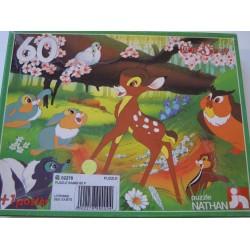 Puzzle Bambi 60 pièces
